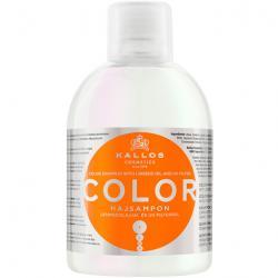 Kallos szampon Color do włosów farbowanych i zniszczonych 1000ml