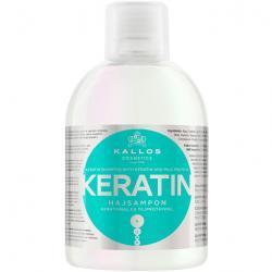 Kallos szampon Keratin do włosów suchych i zniszczonych 1000ml