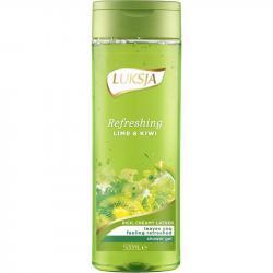 Luksja żel pod prysznic 500ml Refreshing Lime&Kiwi