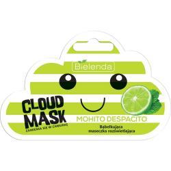 Bielenda Cloud Mask bąbelkująca maseczka rozświetlająca Mohito Despacito