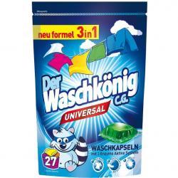 Der Waschkonig kapsułki do prania a'27 universal