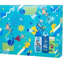 Fa Zestaw Kids Pirat Vademecum pasta do zębów+ Schauma Kids szampon + Fa Kids żel pod prysznic