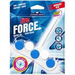 General Fresh Five Force kostka do WC 45g Morze