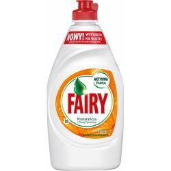 Fairy płyn do naczyń 450ml pomarańcza z trawą cytrynową