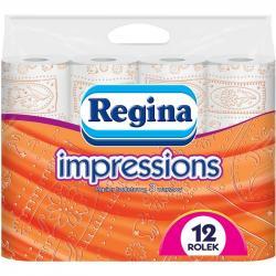 Regina papier 3-warstwowy Impressions 12 sztuk Pomarańczowy