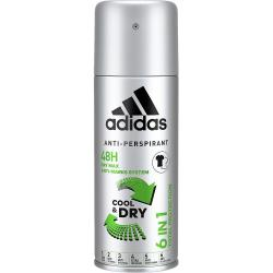 Adidas dezodorant antyperspirant MEN 6in1 150ml