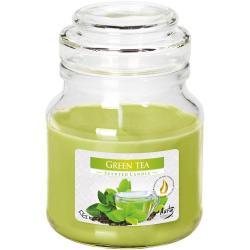 Bispol świeca zapachowaw słoiku Zielona Herbata