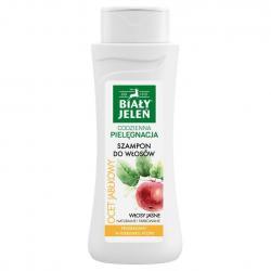 Biały Jeleń szampon do włosów jasnych z octem jabłkowym 300ml