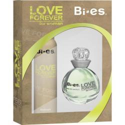 Bi-es zestaw Love Forever zielony woda toaletowa + dezodorant