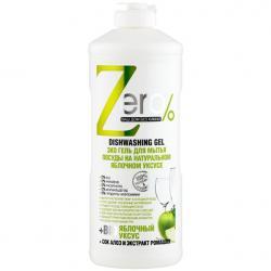 Zero Żel do mycia naczyń z octem jabłkowym 500ml