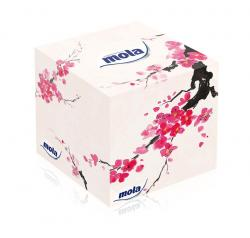 Mola Cubic chusteczki kosmetyczne 3-warstwowe kartonik
