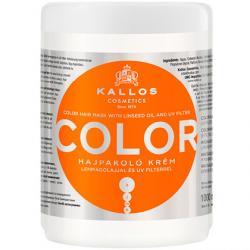 Kallos maska Color do włosów farbowanych i łamiących się 1000ml
