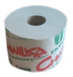 Chwilka papier toaletowy ekologiczny biały 12 rolek