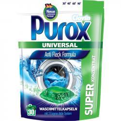 Purox kapsułki do prania 30 sztuk uniwersalne