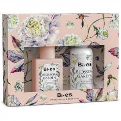 Bi-es zestaw Blossom Garden (EDT 100ml + balsam 75ml)