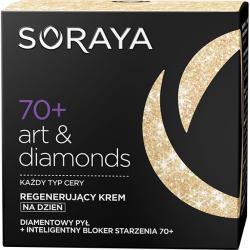 Soraya Art&Diamonds 70+ krem przeciwzmarszczkowy na dzień 50ml
