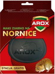 Arox ziarno na nornice 100g + stacja gratis