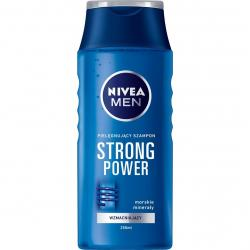Nivea Men szampon do włosów 250ml Strong Power