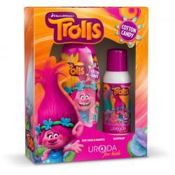 Bi-es Trolls zestaw dezodorant + szampon i żel pod prysznic