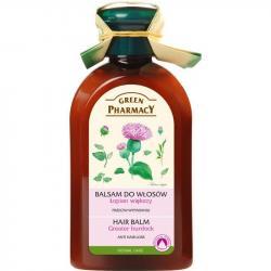 Green Pharmacy balsam do włosów przeciw wypadaniu 300ml Olejek Łopianowy
