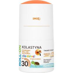 Kolastyna Opalanie KIDS roll-on SPF30 50ml