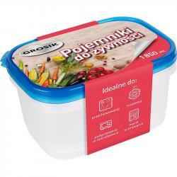 Grosik pojemnik do żywności plastikowy 1850ml 2 sztuki