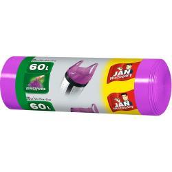 Jan Niezbędny worki na śmieci zawiązywane 60L 20 sztuk