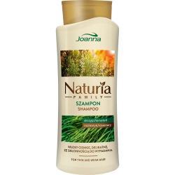 Joanna Naturia Family szampon do włosów ze skrzypem i rozmarynem 750ml