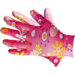 Rękawice ochronne damskie ozdobne nr 7 (S)
