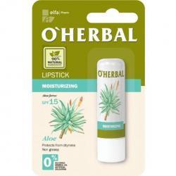 O Herbal pomadka do ust nawilżająca 4.8g Aloes