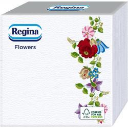 Regina serwetki 33x33cm 60 sztuk Kwiaty