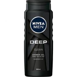 Nivea MEN żel pod prysznic 500ml Deep Clean