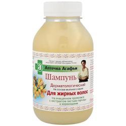 Babuszka Agafia szampon do włosów tłustych 300ml