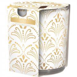 Bispol świeca zapachowa w szkle Luxe