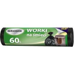 Grosik worki na odpady HD 60L/20szt.