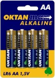 Oktan baterie alkaliczne AA LR6 1,5V 4szt.