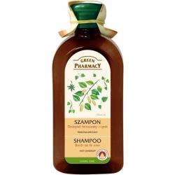 Green Pharmacy szampon do włosów 350ml Dziegieć Brzozowy i Cynk
