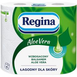 Regina papier 3-warstwowy Aloe Vera 4 sztuki