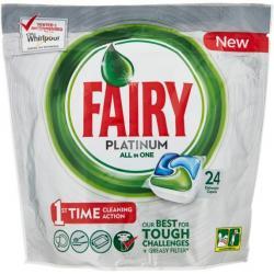 Fairy kapsułki do zmywarek 24szt. Platinum