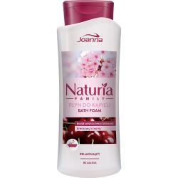 Joanna Naturia Family płyn do kąpieli 750ml Kwiat Wiśni