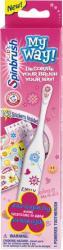 Spinbrush My Way! elektryczna szczoteczka do zębów dla dziewczynek (z naklejkami)