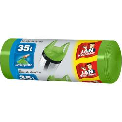 Jan Niezbędny worki na śmieci zawiązywane 35L 30 sztuk