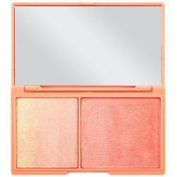 Revolution paleta rozświetlaczy Peach and glow