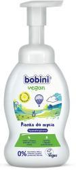 Bobini Vegan pianka do mycia ciała 300ml hypoalergiczna