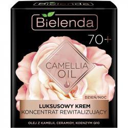 Bielenda Camelia Oil Luksusowy koncentrat rewitalizujący 70+ dzień/noc 50ml