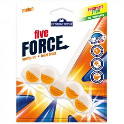 General Fresh Five Force Kostka do WC melon