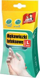 Jan Niezbędny Rękawice Lateksowe rozm. L 10 szt.