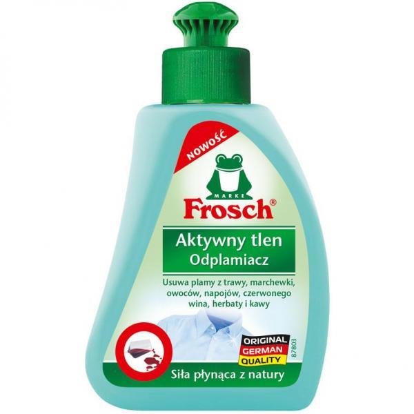 Frosch odplamiacz do tkanin 75ml Aktywny Tlen