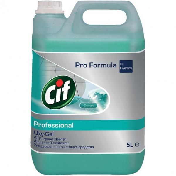 Cif Professional Oxy-gel płyn uniwersalny Ocean 5l