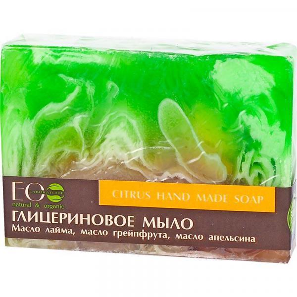 EOlab glicerynowe mydło w kostce 130g Cytrusowe
